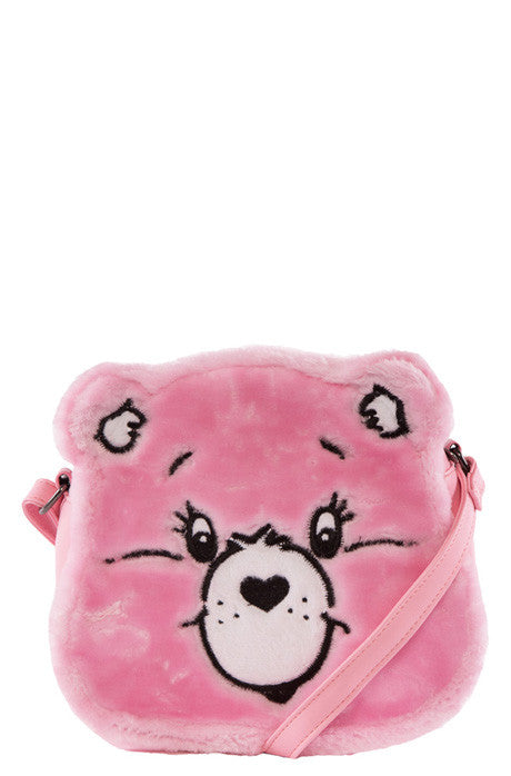 Care Bears Stare Cross Body Bag (Pink)