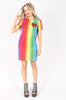 Iron Fist Clothing Australia 2017 Spring Alternative Style Somewhere Rainbow Mesh Dress 2