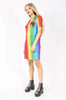 Iron Fist Clothing Australia 2017 Spring Alternative Style Somewhere Rainbow Mesh Dress 3