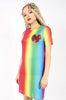 Iron Fist Clothing Australia 2017 Spring Alternative Style Somewhere Rainbow Mesh Dress 1