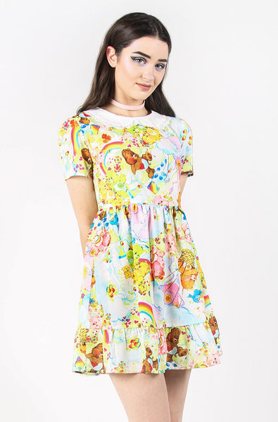 Iron Fist Clothing Australia 2017 Spring Alternative Style Care Bears Spring Fling Dress 1