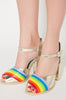 Iron Fist Clothing Australia 2017 Spring Alternative Style Over It Rainbow Heels 2