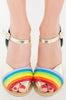 Iron Fist Clothing Australia 2017 Spring Alternative Style Over It Rainbow Heels 3