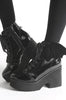 Iron Fist Clothing Australia 2017 Spring Shoes Bat Wing Boots Patent Black 4