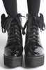 Iron Fist Clothing Australia 2017 Spring Shoes Bat Wing Boots Patent Black 2