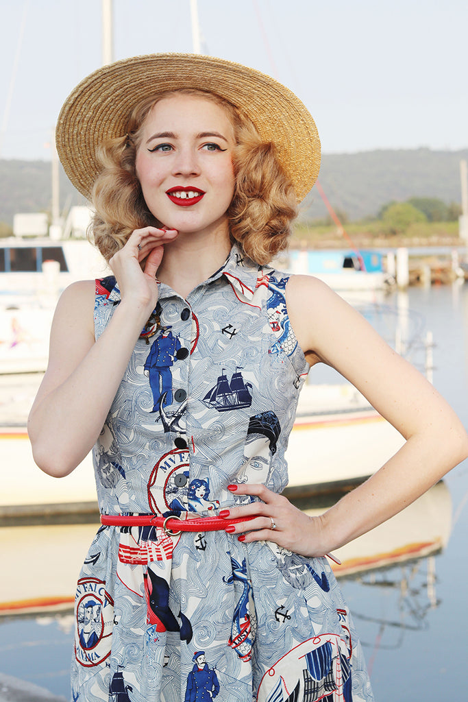 Lost at Sea with Kayla of Gracefully Vintage