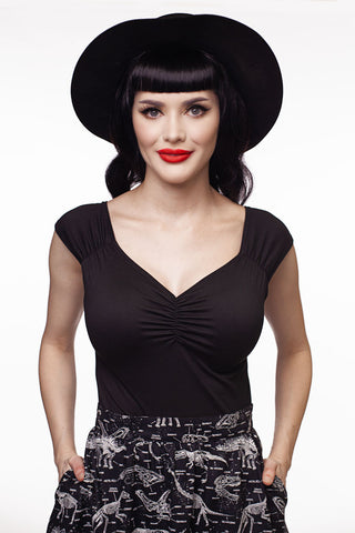 1374 Isabel Top in Black