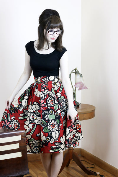 3484 Madison Skirt in Frida