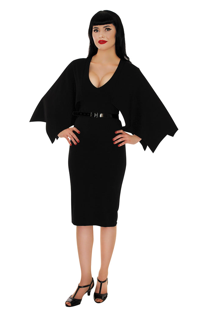 3722 Creature of the Night Wiggle Dress