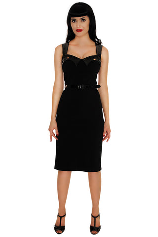 3724 The Vamp Wiggle Dress