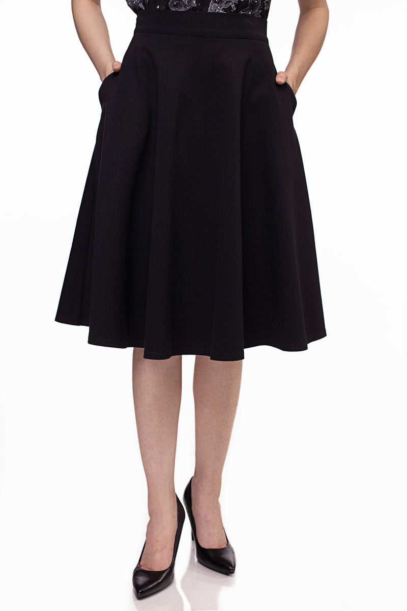 3795 Charlotte Skirt in Black