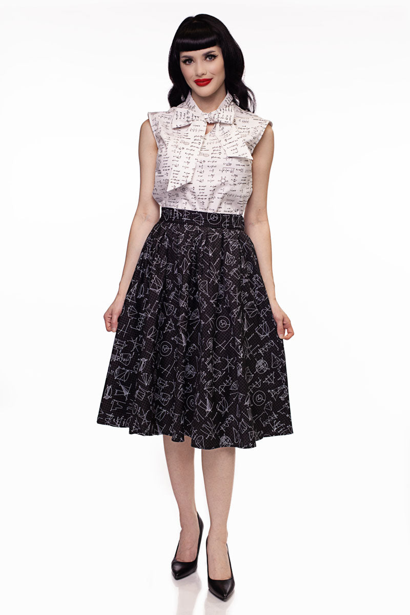 9cf13098322 Equations Bow Top | Vintage Tops
