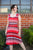 3972 Amelia Dress in Retro Stripes