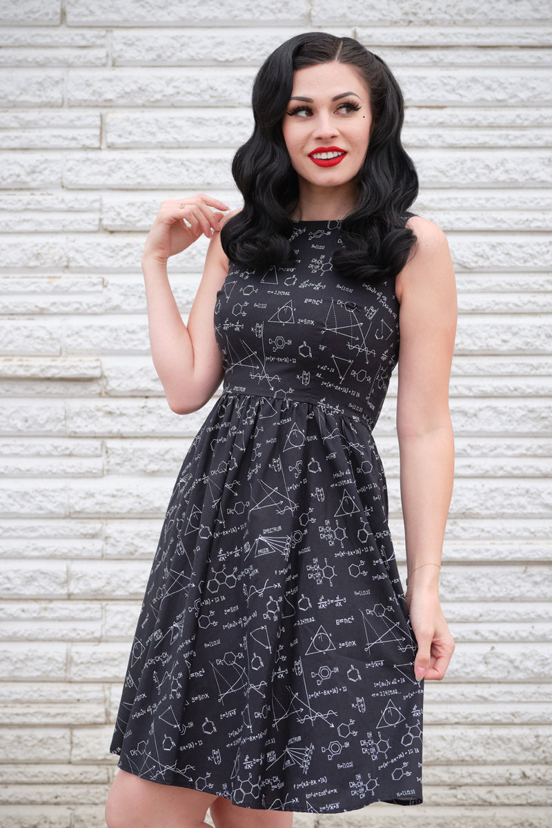 4142 Equations Dress - 4X only