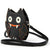 Glittery Bat Crossbody Bag