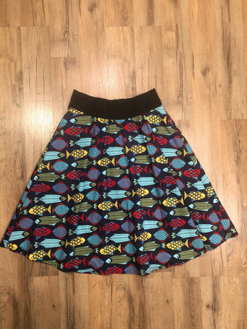 "Fishes Skirt - 28"" waist"