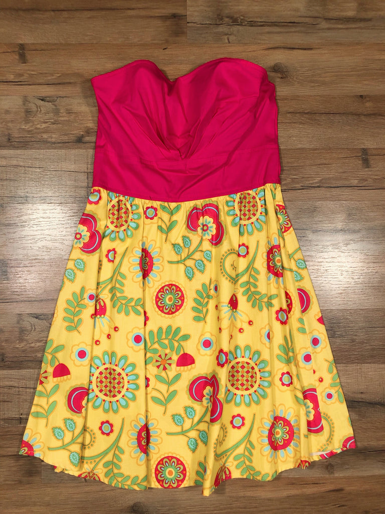 Strapless Sunshine Dress