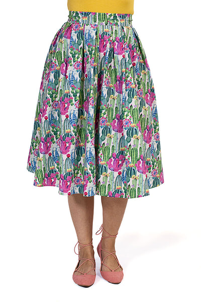 3943 Doris Skirt in Cactus