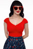 3450 Isabel Top in Red