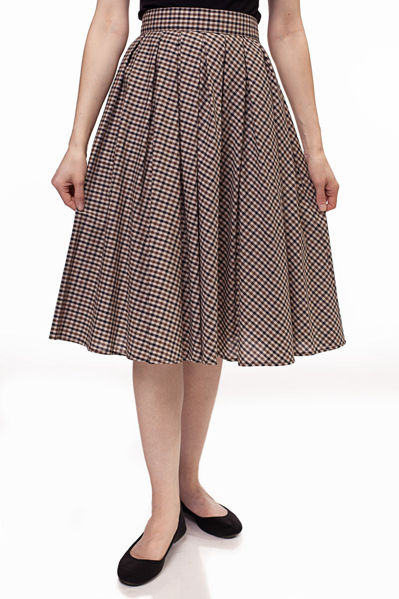 3657 Madison Skirt in Checkers