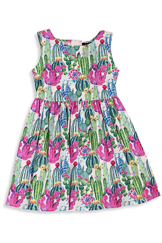 3947 Cactus Kids Dress