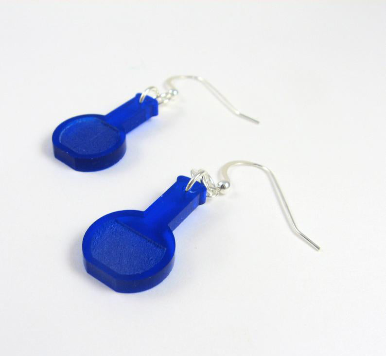 Florence Flask Earrings
