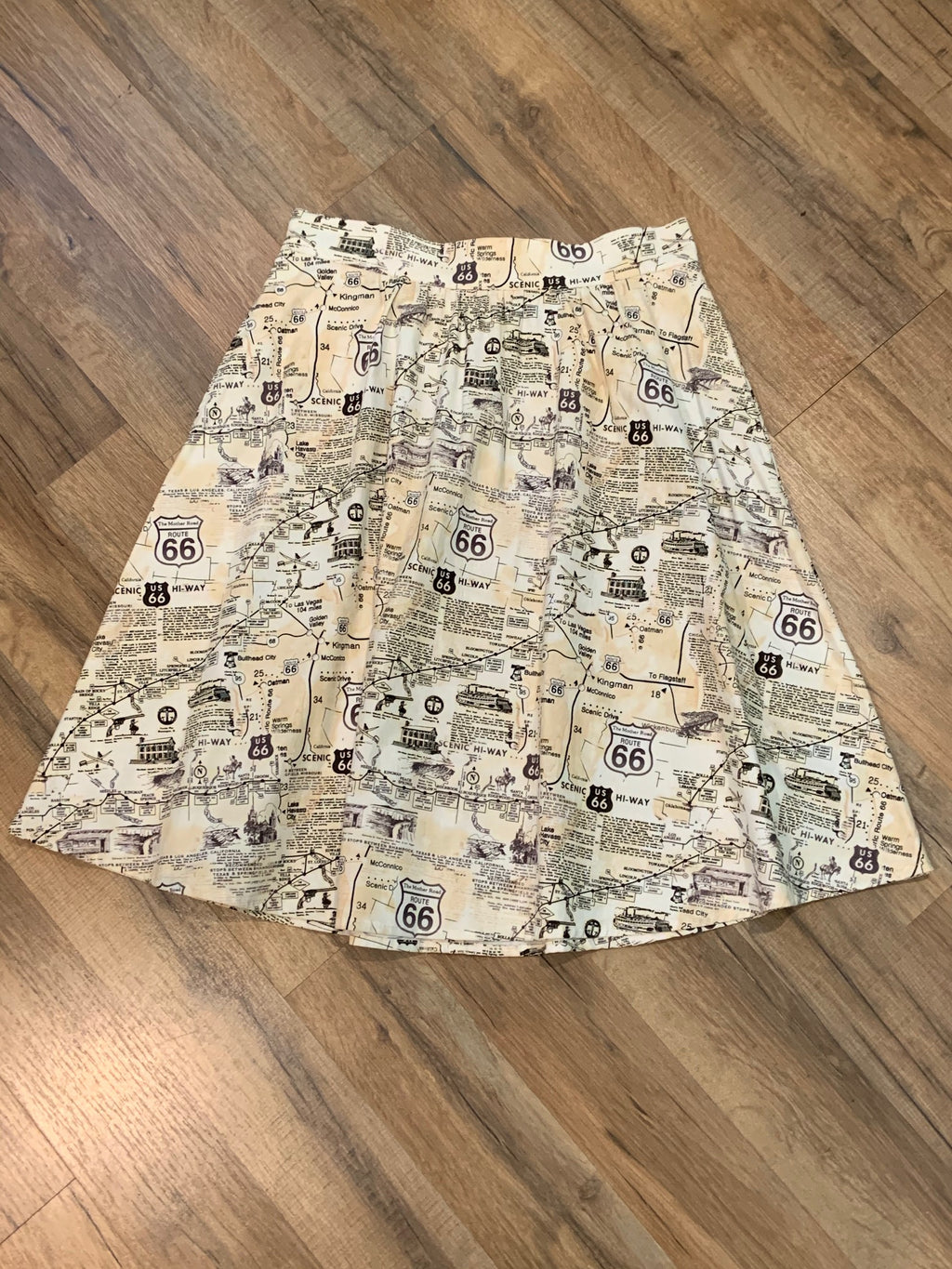 Route 66 A-Line Skirt