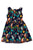 3944 Tropical Birds Kids Dress