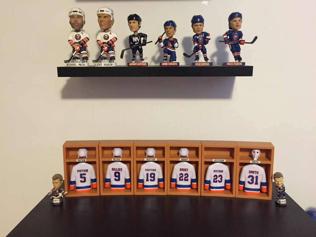 Collector Series: Islanders Bobbleheads with @DosDosHyams from Twitter aka Glenn