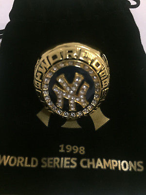 New York Yankees 1998 World Series Replica Ring SGA 2018 BRAND NEW