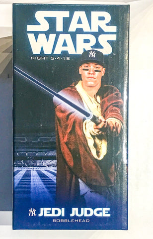 5/4/2018 Aaron Judge Star Wars Jedi Bobblehead New York Yankees Stadium Giveaway