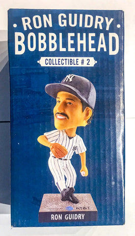 6/14/2018 Ron Guidry Bobblehead Louisiana Lightning New York Yankees Stadium Giveaway