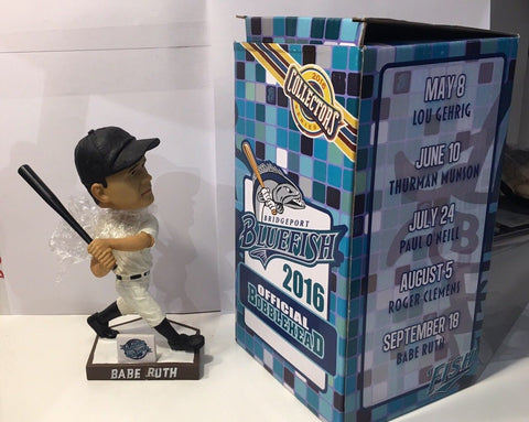 9/18/16 Babe Ruth Bridgeport Bluefish / Yankees SGA Bobblehead