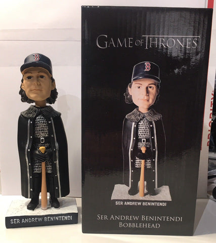 7/18/2017 Ser Andrew Benintendi Game of Thrones Bobblehead Boston Red Sox SGA