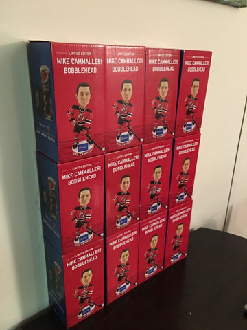 Mike Cammalleri SGA NEW JERSEY DEVILS BOBBLEHEAD (2/6/16) NJ PRUDENTIAL CENTER