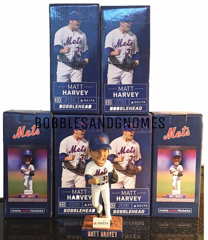 Matt Harvey Bobblehead SGA New York Mets (8/27/16) Citi Field, NY
