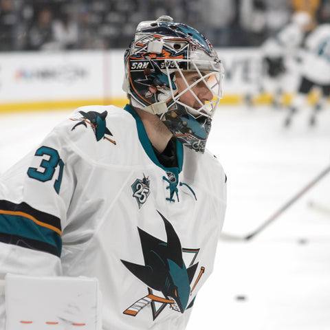 Martin Jones Bobblehead (11/26/16) San Jose Sharks SAP Center Giveaway SJ NHL