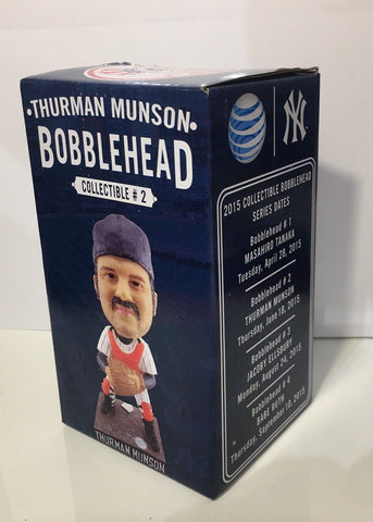 6/18/15 Thurman Munson Bobblehead New York Yankees SGA Yankee Stadium