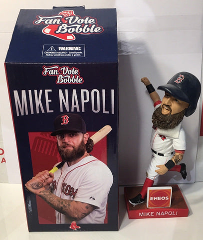 6/2/2015 Mike Napoli Bobblehead Boston Red Sox Stadium Giveaway