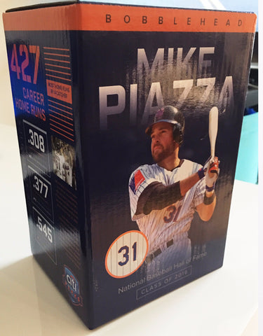 Mike Piazza HOF Bobblehead SGA New York Mets (7/31/16) Citi Field, NY