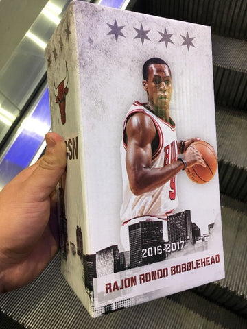 Rajon Rondo Chicago Bulls SGA Bobblehead (1/9/17) United Center January 2017