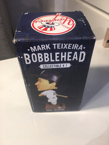 6/19/14 Mark Teixeira SGA Bobblehead New In Box June 2014 New York Yankees