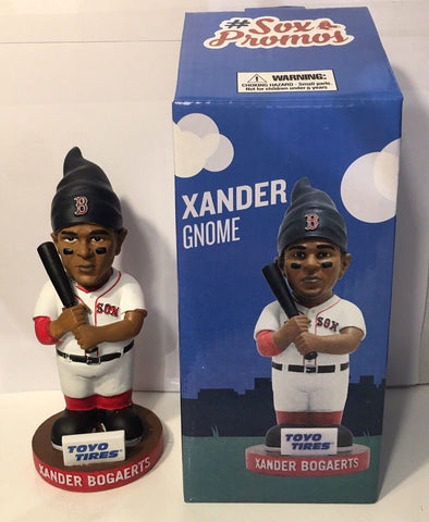9/13/2017 Xander Bogaerts Gnome Boston Red Sox Stadium Giveaway