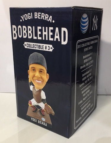8/30/13 Yogi Berra New York Yankees SGA Bobblehead 2013
