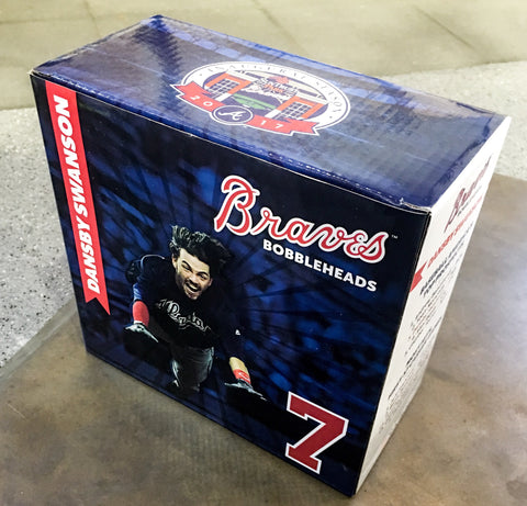 "6/16/2017 Dansby Swanson ""The Flow"" Bobblehead Atlanta Braves Stadium Giveaway"