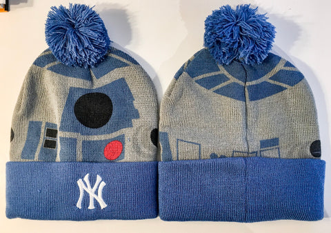 8/5/2016 New York Yankees SGA R2D2 Star Wars Knit Winter Ski Cap Hat