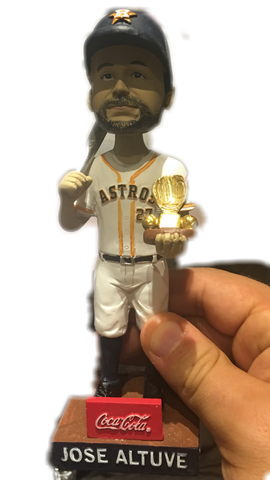 Jose Altuve Gold Glove Silver Slugger Bobblehead 8/27/16 Astros Houston Minute Maid Park