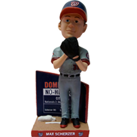 Max Scherzer 2016 SGA No Hitter 2 of 2 Bobblehead - 8/26/16 Washington Nationals