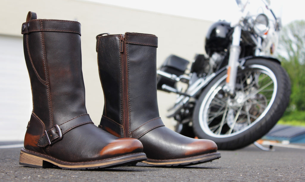 Harley Davidson Vincent Men's Motorcycle Boots