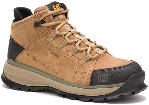 Caterpillar UTILIZE WP Alloy Toe Mens Work Safety Sand Leather Boots